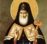 (Фото) Встреча иконы Святителя Митрофана Воронежского