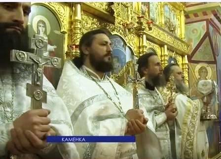 (Видео) Рождество Христово в храме Архангела Михаила в с. Хрустовая