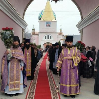 (Фото) Божественная Литургия в день памяти 40 мучеников  Севастийских