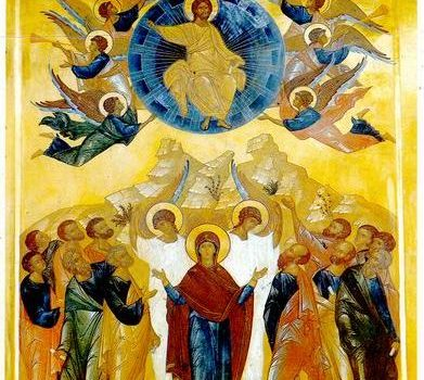 (Фото) Праздник Вознесения Господня в храме Архангела Михаила села Хрустовая