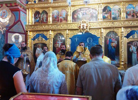 (Фото) Божественная Литургия в день праздника Рождества Иоанна Предтечи