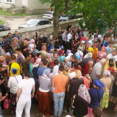 В августе проходила «Семидневка» в храме Архангела Михаила