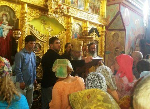 (Фото) «Семидневка» проходила в храме Архангела Михаила в Хрустовой