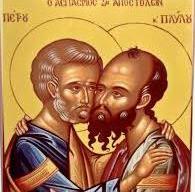 В праздник первоверховных апостолов Петра и Павла была совершена Божественная Литургия в храме Архангела Михаила в Хрустовой