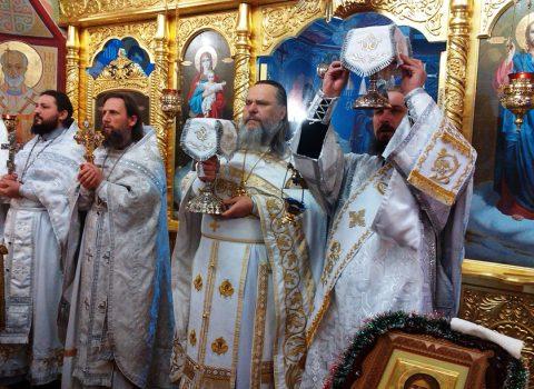 (Фото) Рождество Христово в храме Архангела Михаила