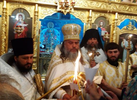 (Foto) Sărbătoarea Sfintelor Paști în Biserica Arhanghelului Mihail