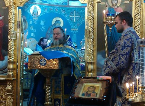(Фото) Божественная Литургия в праздник Благовещение Пресвятой Богородицы в нашем храме