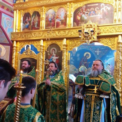 (Foto) Sfânta Liturghie a fost săvârșită cu ocazia praznicului Intrării Domnului în Ierusalim