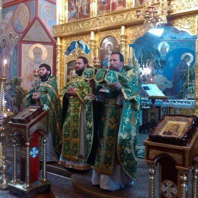 (Фото) Праздник святого Иоанна Русского в нашем храме