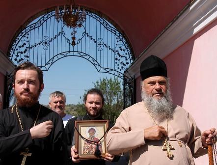(Foto) Pelerinaj la Biserica Arhanghelului Mihail din s. Hrustovaia