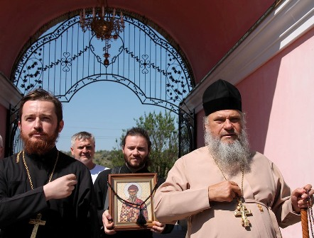 (Фото) Паломничество в храм Архангела Михаила, с. Хрустовая