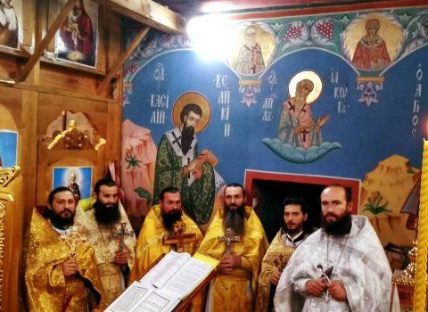 (Фото) Праздник Усекновения главы Пророка, Предтечи и Крестителя Господня Иоанна в храме Архангела Михаила