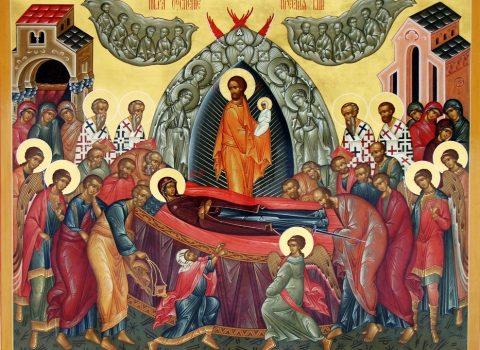 Sfânta Liturghie a fost săvârșită cu ocazia sărbătorii Adormirii Maicii Domnului
