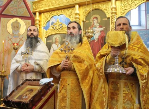 (Фото) Праздник Святителя Николая Чудотворца в храме Архангела Михаила