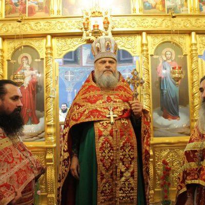 (Фото) Новогоднее Богослужение в Храме Архангела Михаила