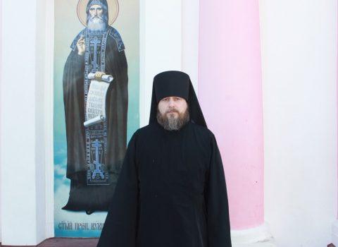 (Foto) La 25 martie 2018 a fost săvârșită Taina tunderii în monahism a lui Amfilohie