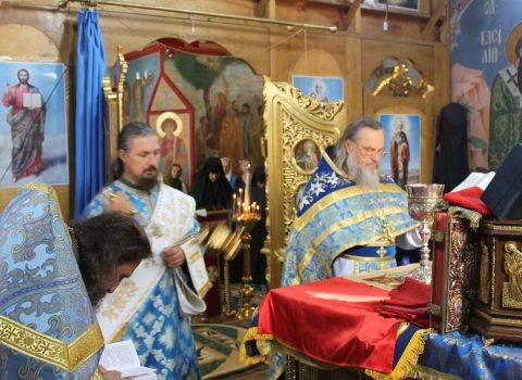 (Фото) Праздник Успения Пресвятой Богородицы в храме Архангела Михаила с. Хрустовая