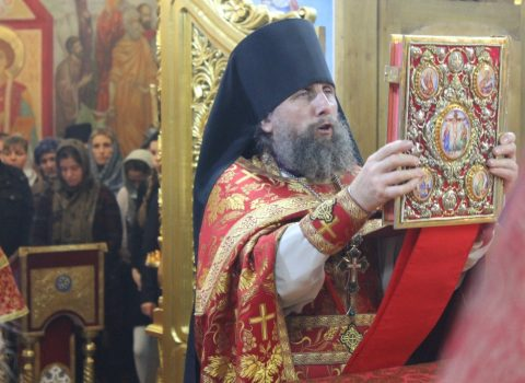 Новогоднее Богослужение 2019 года в Храме Архангела Михаила