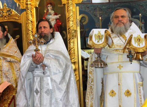 В праздник Обрезания Господня и день памяти Святителя Василия Великого состоялось праздничное богослужение