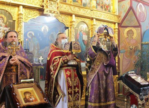 Божественная Литургия в день памяти 40 мучеников Севастийских