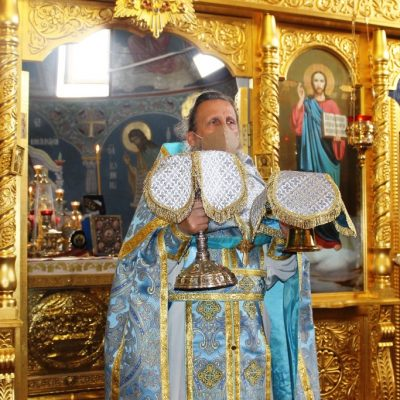 Праздник Рождества Пресвятой  Богородицы в храме Архангела Михаила