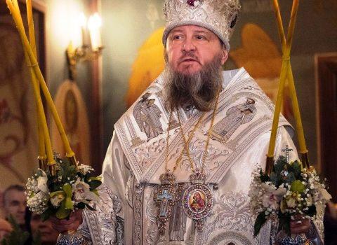 В понедельник, 3 мая, Архиепископ Савва посетит храм Архангела Михаила